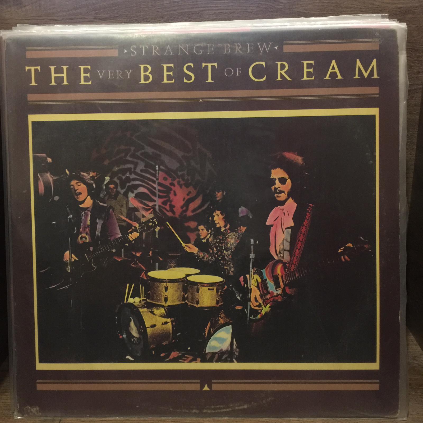 Cream Strange Brew The Very Best Of Cream Lp
