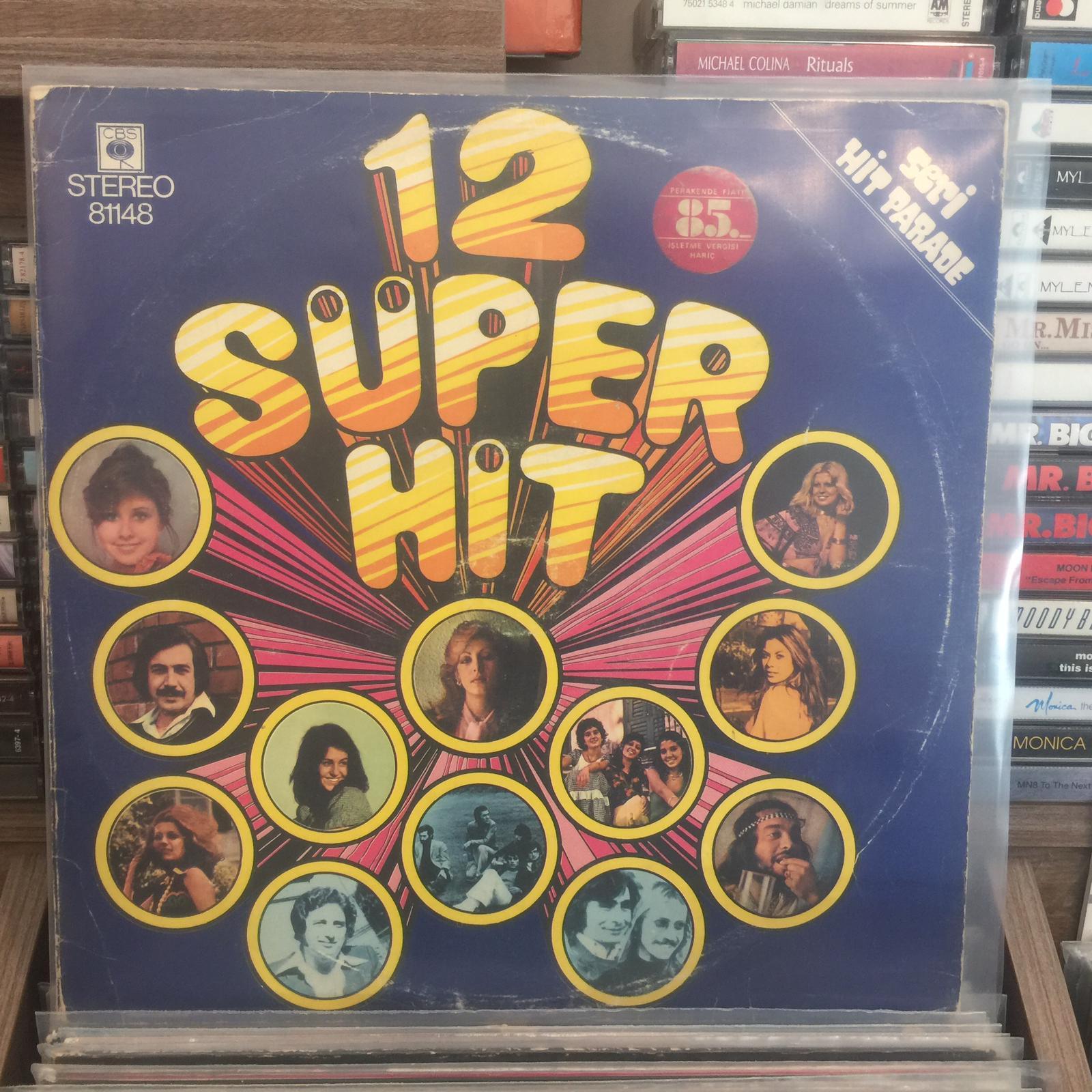 12 SÜPER HIT LP