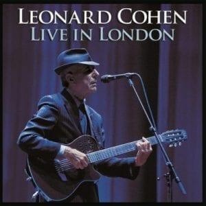 LEONARD COHEN - LIVE IN LONDON LP