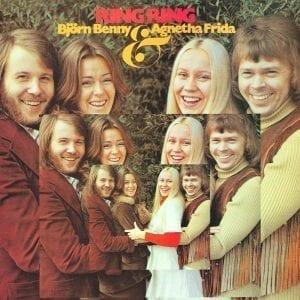 BJORN BENNY & AGNETHA FRIDA - RING RING LP