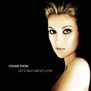 CELINE DION - LET'S TALK ABOUT LOVE LP
