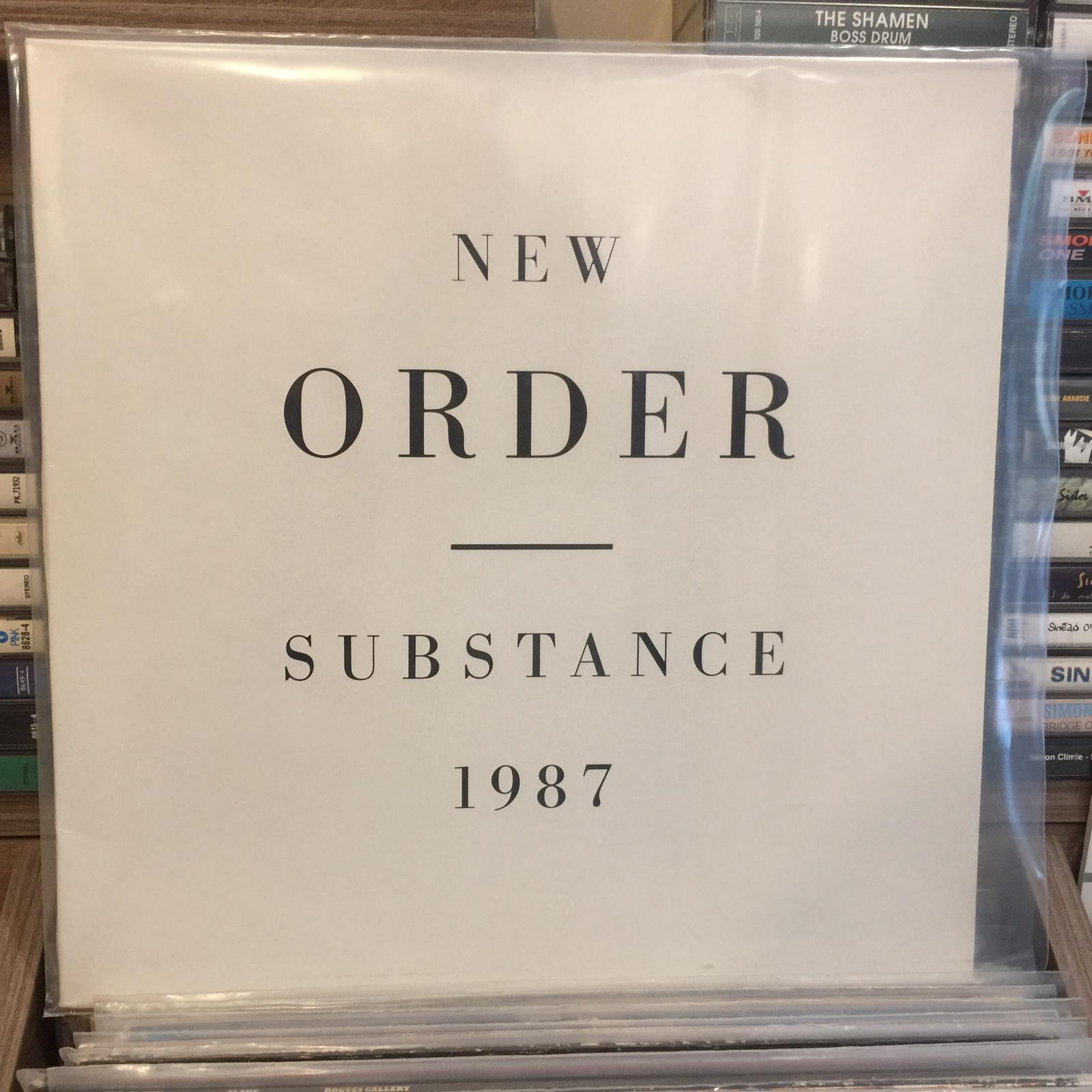 NEW ORDER - SUBSTANCE 1987 LP