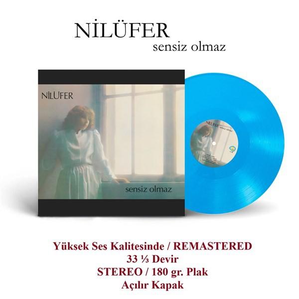 NİLÜFER - SENSİZ OLMAZ Vinyl, LP, Album, Reissue MAVİ PLAK
