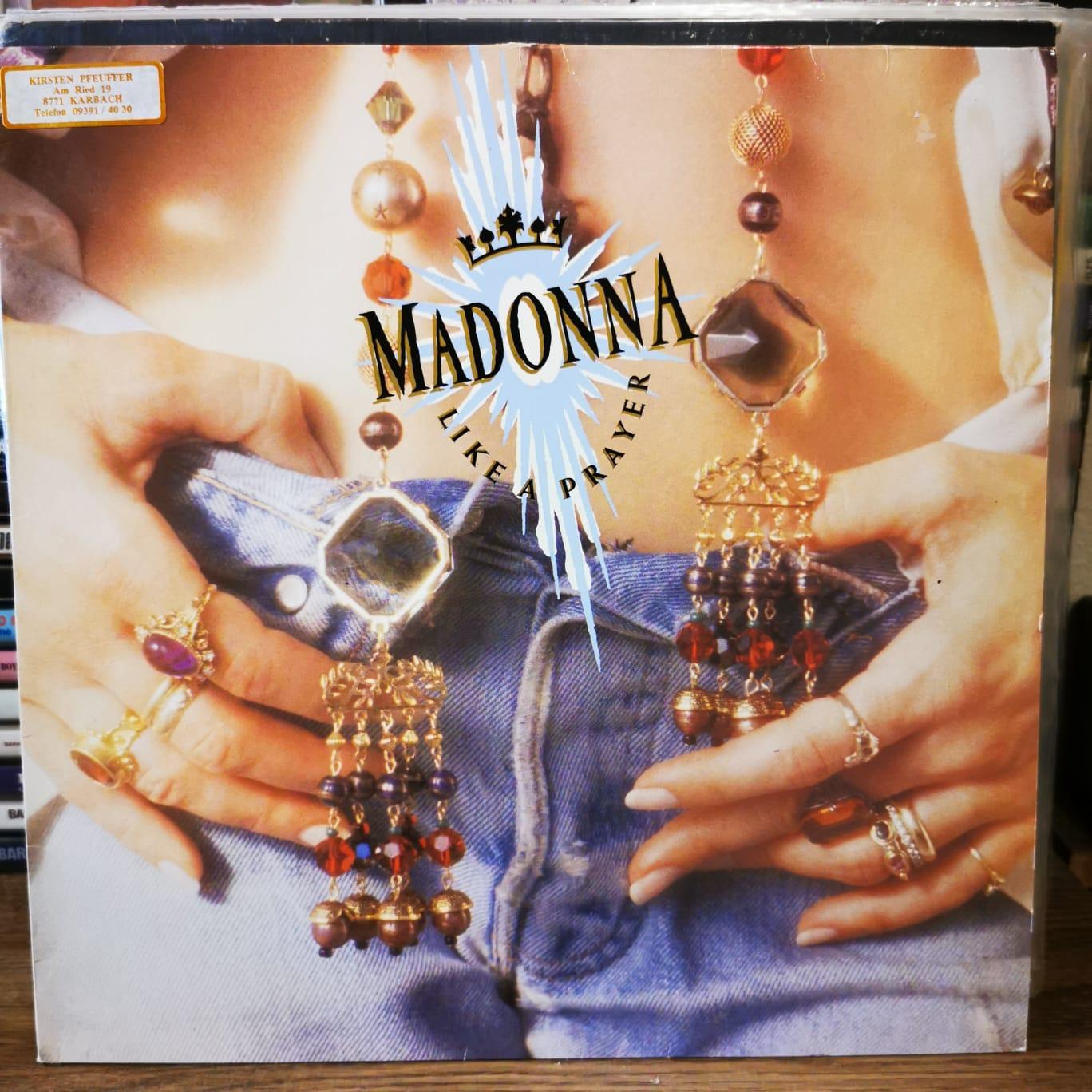 MADONNA - LIKE A PRAYER - Vinyl, LP, Album