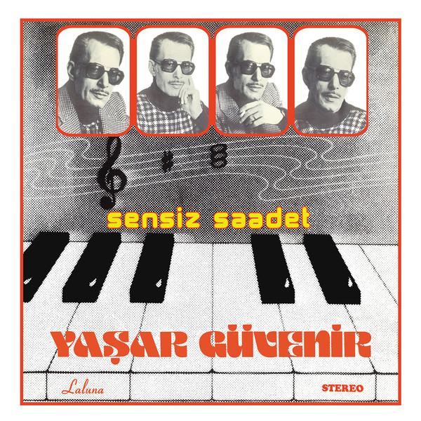 YAŞAR GÜVENİR - SENSİZ SAADET - Vinyl, LP, Album, Limited Edition, Special Edition, Marbled