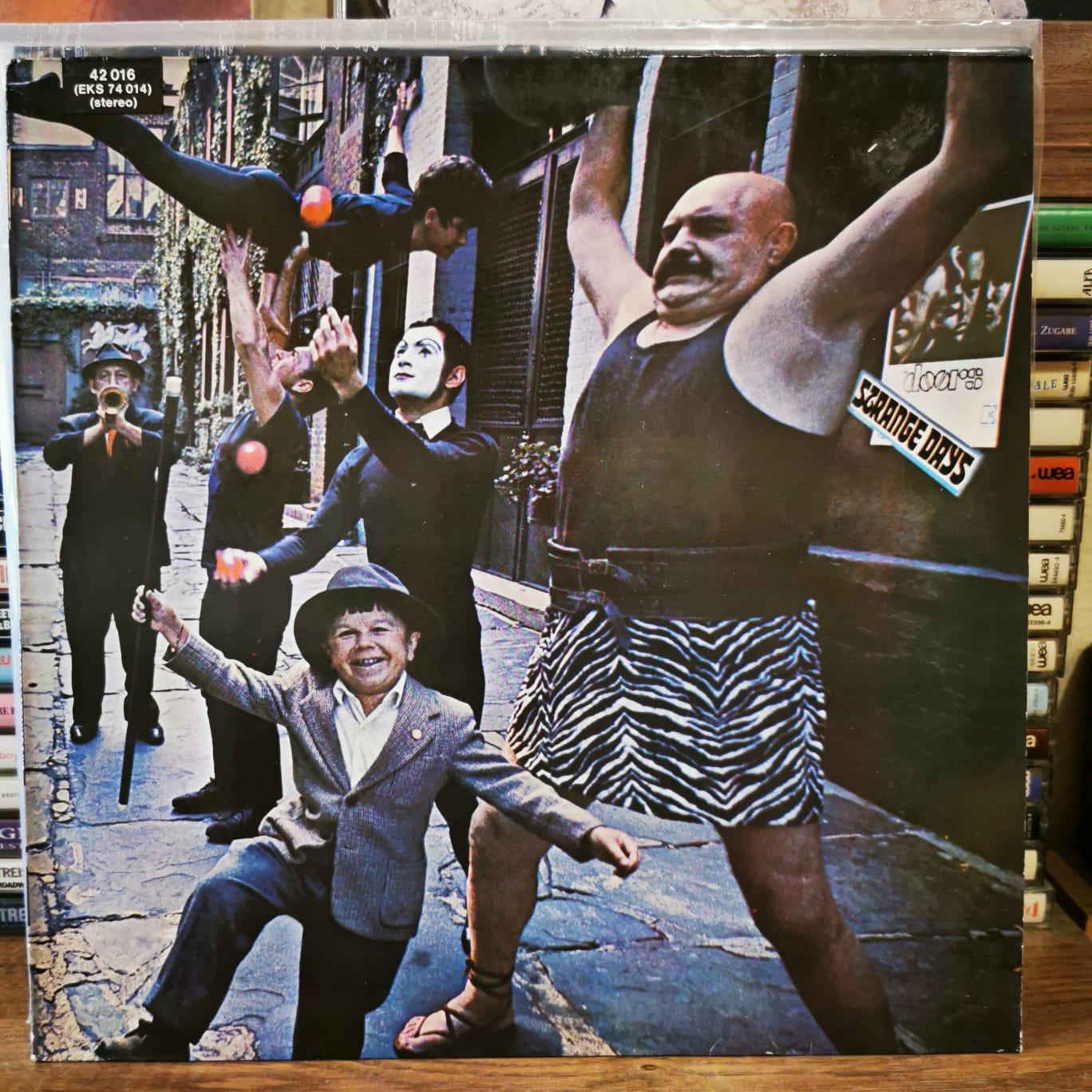 THE DOORS - STRANGE DAYS - Vinyl, LP, Album,80's Reissue, 180g