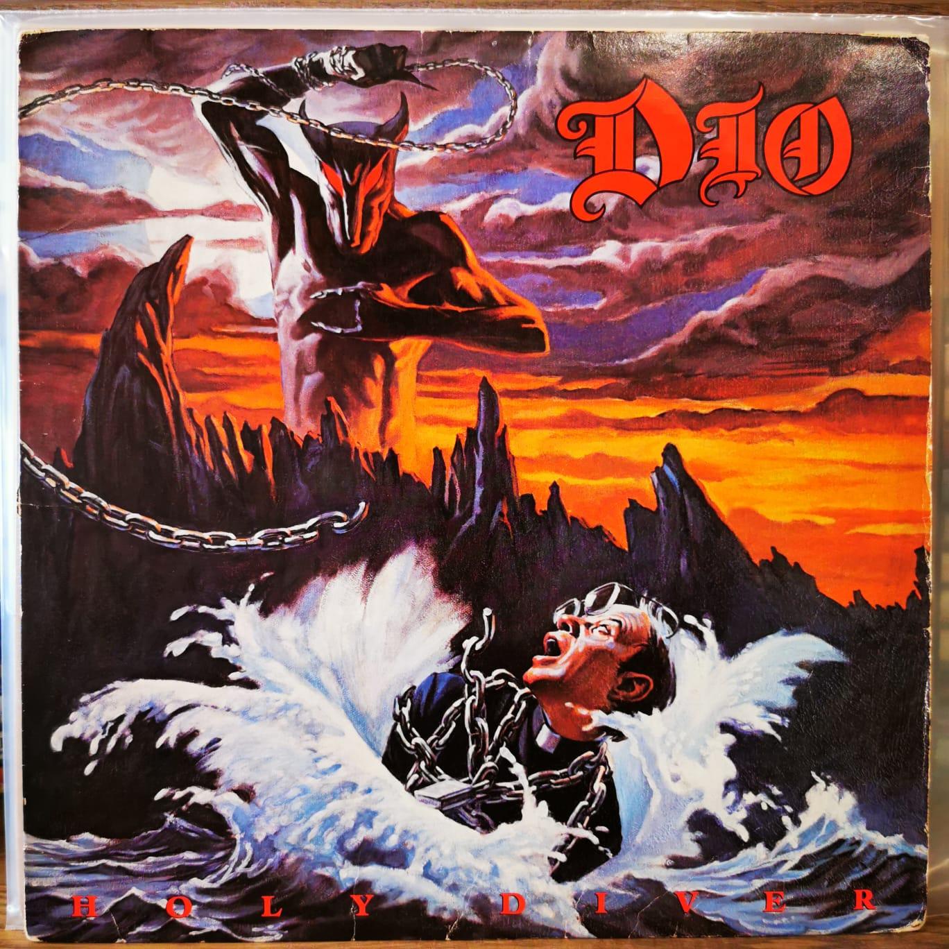 DIO - HOLY DIVER - Vinyl, LP, Album
