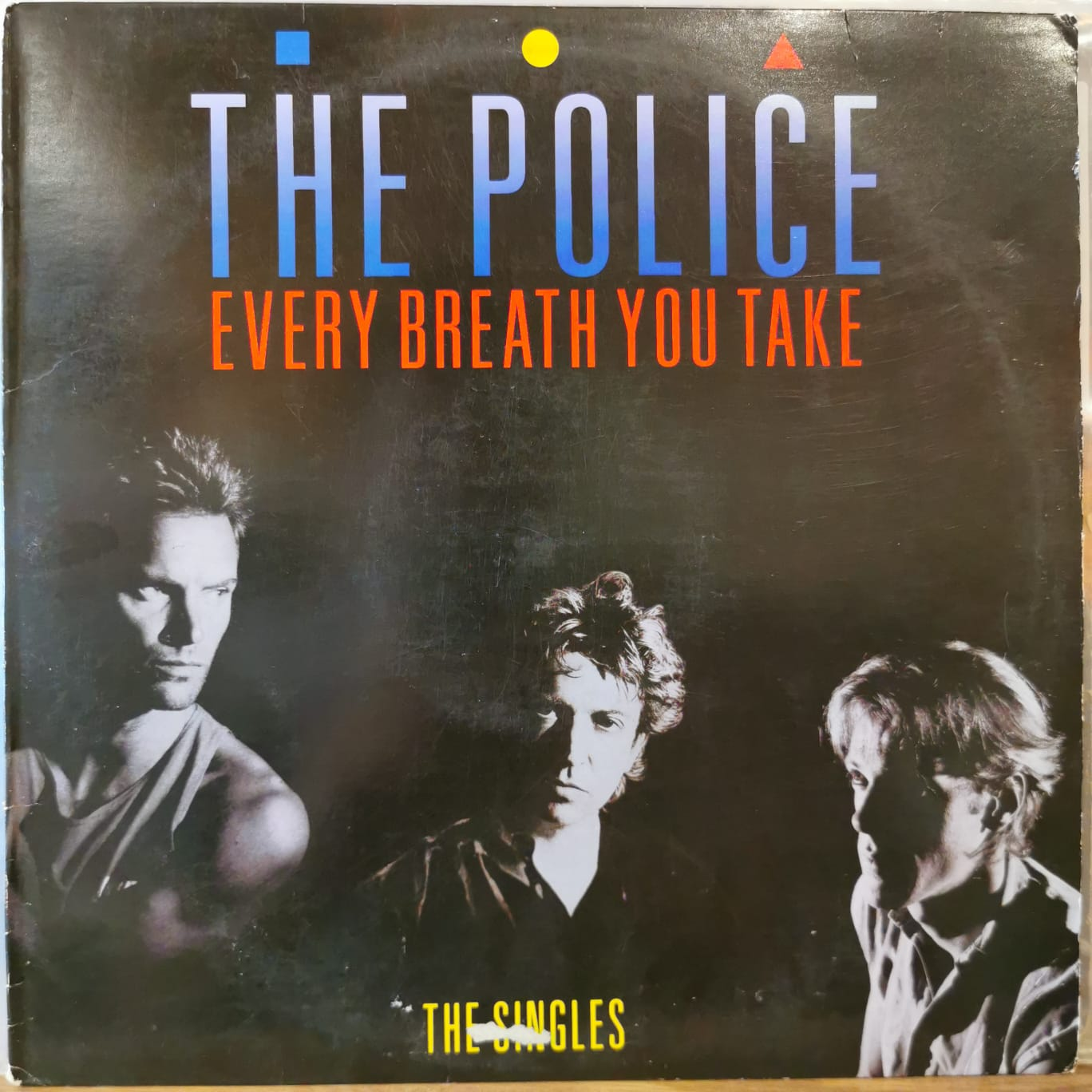 THE POLICE - EVERY BREATH YOU TAKE - (The Singles) Vinyl, LP, Compilation, Remastered, Stereo