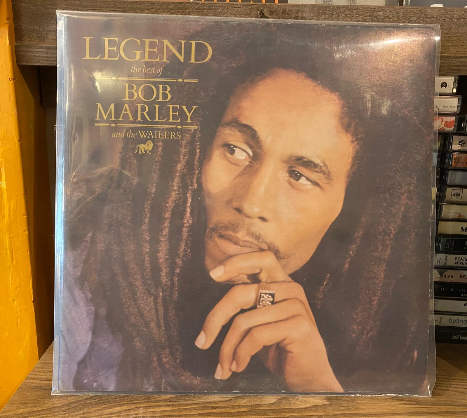 BOB MARLEY - THE WAILERS - LEGEND - THE BEST OF BOB MARLEY AND THE WAILERS - Vinyl, LP, Compilation - PLAK