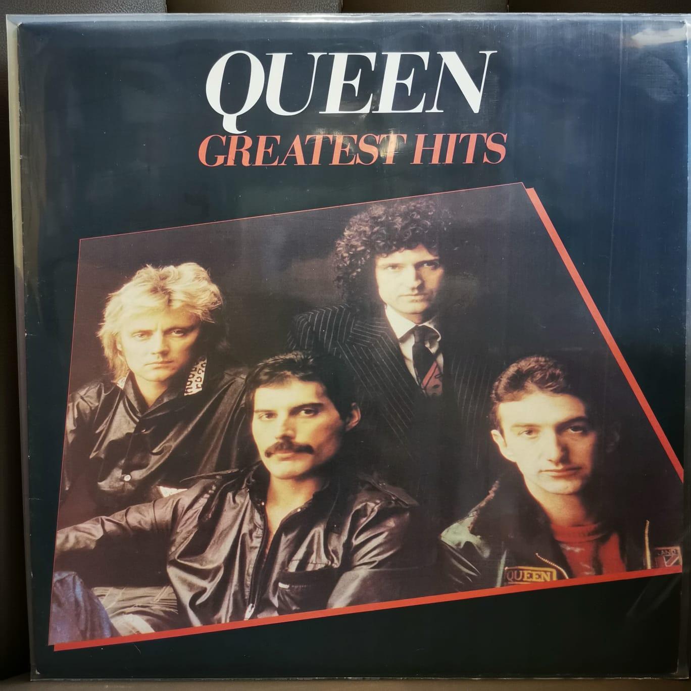 QUEEN - GREATEST HITS - Vinyl, LP, Compilation, Reissue, Repress - PLAK
