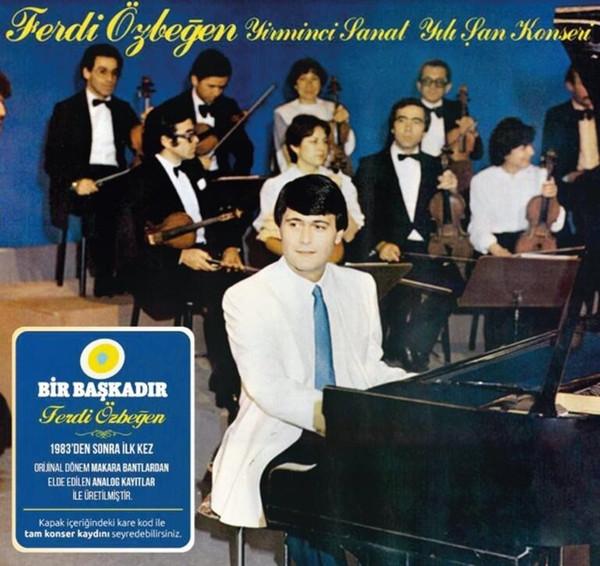 FERDI ÖZBEĞEN - YIRMINCI SANAT YILI ŞAN KONSERI LP 2 × Vinyl, LP, Album, Reissue, Stereo, 180 gr -PLAK