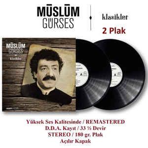 MÜSLÜM GÜRSES - MÜSLÜM GÜRSES KLASIKLER – Vinyl, LP