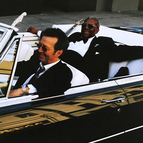 B.B.KING & ERIC CLAPTON - RIDING WITH THE KING- Vinyl, LP, Album, Reissue, PLAK