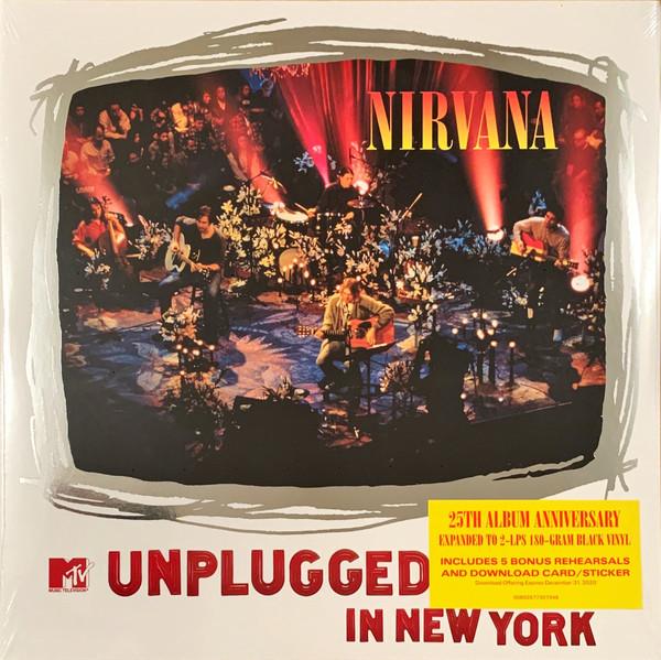 NIRVANA - MTV UNPLUGGED IN NEW YORK - 2 × Vinyl, LP, Album, Reissue - PLAK